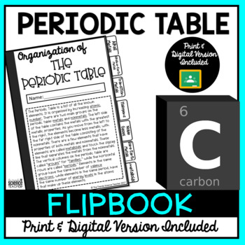 The Periodic Table Flipbook