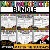 1st Grade Math Worksheets Addition and Subtraction Practic