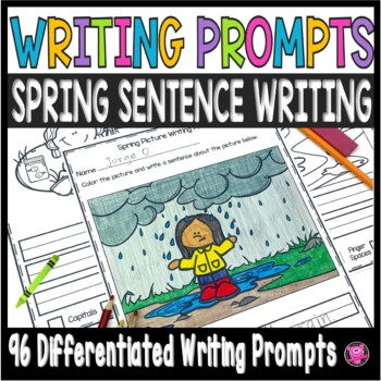 Spring Writing Prompts Kindergarten First Grade