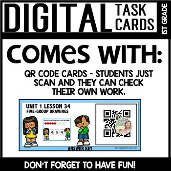 5-Group Drawings DIGITAL TASK CARDS Module 1 Lesson 34