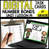 Number Bonds DIGITAL TASK CARDS Module 1 Lesson 19