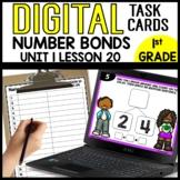 Number Bonds DIGITAL TASK CARDS Module 1 Lesson 20