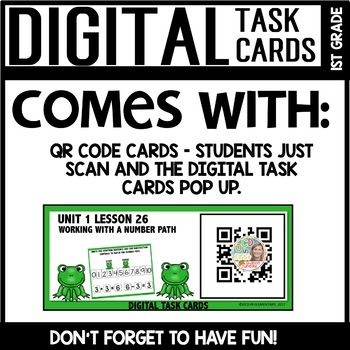 RELATED FACTS DIGITAL TASK CARDS Module 1 Lesson 26