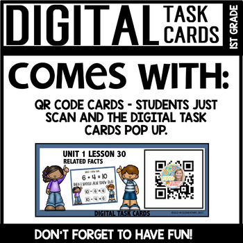 Related Facts DIGITAL TASK CARDS Module 1 Lesson 30