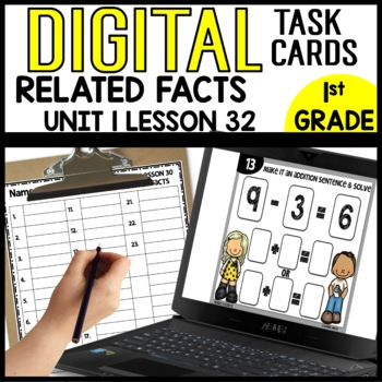 Related Facts DIGITAL TASK CARDS Module 1 Lesson 32