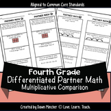 Multiplicative Comparison Worksheets | Differentiated Part