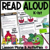Apple Read Aloud Book Activities Lesson Plans Craftivity a
