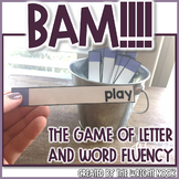 Fluency Game Letters, Sounds, and High Frequency Words