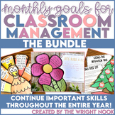 Classroom Behavior Management Goals for the Year