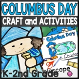 Christopher Columbus Activities and Craft for Kindergarten and First Grade