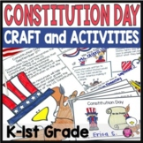 Constitution Day Activities and Craftivity for Kindergarten and First Grade