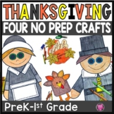 Thanksgiving Crafts for Kindergarten and First Grade