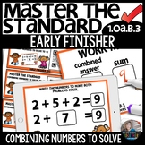 Combining Numbers to solve up to 12 EARLY FINISHER