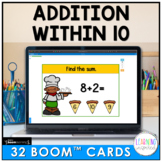 Addition Within 10 Boom™ Cards | Distance Learning