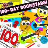 100th Day of School Activity Pack   Rock-star Version  