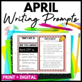 April Writing Prompts and Journal