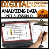 Analyzing Data | DIGITAL TASK CARDS | PRINTABLE CARDS