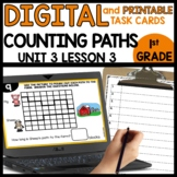 Counting Paths | DIGITAL TASK CARDS | PRINTABLE CARDS