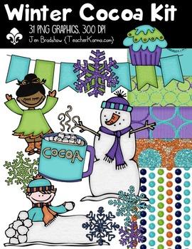 Winter Cocoa Seller's Kit ~ Commercial Use OK ~ Christmas