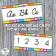 Alphabet Cards Summer Fun Theme