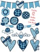 Seller's Kit BLUE BUTTONS~ Commercial Use OK
