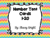 #1-20 Tent Cards