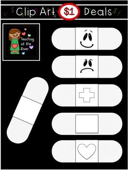 $1 Band Aid Clip Art Dollar Deal 5