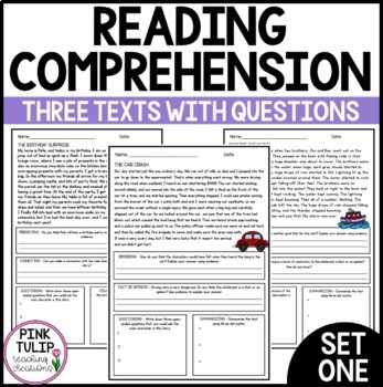 $1 Comprehension Deals - Reading Strategies Set #1