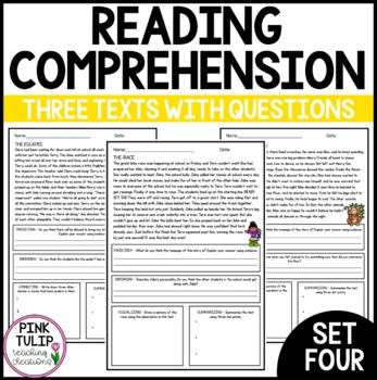 $1 Comprehension Deals - Reading Strategies Set #4