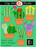 $1 Cute Cactus Clip Art Dollar Deal