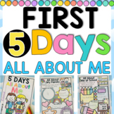 $1 DEAL - All About Me 5 DAY BOOKLET