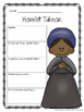 Harriet Tubman Biography Report Organizers ~ Black History Month