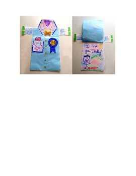 #1 Dad-Father's Day Shirt Card