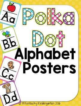 $2 Deal!! Alphabet Posters