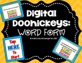 Distance Learning: 4th Grade Word Form