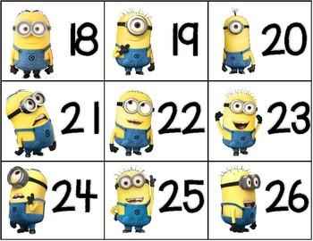 {$1 Deal} Number Cards 0-100