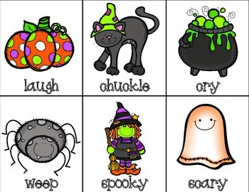 {$1 Deal} Spooky Synonyms Match