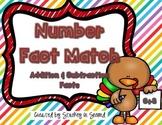 {$1 Deal} Turkey Number Fact Match