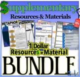 $1 Dollar Resources & Material for ESL - BUNDLE 20% SAVINGS!