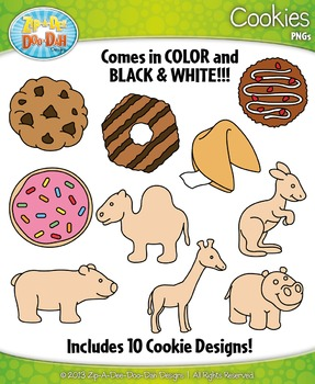 Cookies Clipart Set — Includes 20 Graphics!