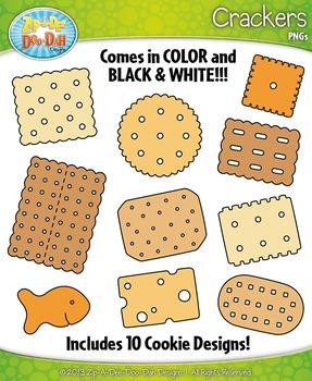 Crackers Clipart {Zip-A-Dee-Doo-Dah Designs}