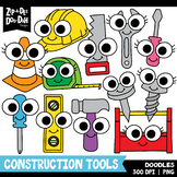 Doodle Construction Tools Clipart Set {Zip-A-Dee-Doo-Dah Designs}