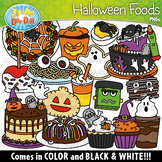 Halloween Foods Clipart Set {Zip-A-Dee-Doo-Dah Designs}