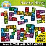 Numbers Building Blocks Clipart {Zip-A-Dee-Doo-Dah Designs}