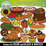 Thanksgiving Foods Clipart Set {Zip-A-Dee-Doo-Dah Designs}