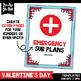 Valentine's Day Background Templates {Zip-A-Dee-Doo-Dah Designs}