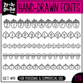 Zip-A-Dee-Doo-Dah Designs Font Collection 19 — Includes Commercial License!
