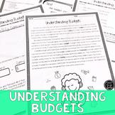 Understanding Budgets Reading & Writing Activity (SS6E13, SS6E13b)