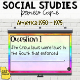 America 1950-1975 Review Game (SS5H6)
