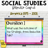 America 1975-2001 Review Game (SS5H7)